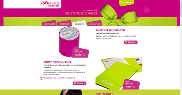 Catalogue des Objets Publicitaires