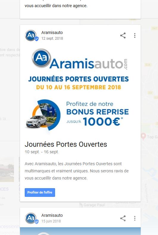 Google Post - Améliorer son référencement local dans le Finistère